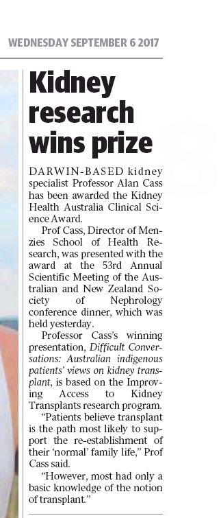 Kidney - Menzies