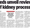 Feds unveil review of kidney process | NT News
