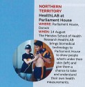 HealthLAB in Australian Geographic