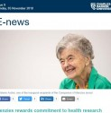 CDU E-news | Menzies rewards commitment to health research