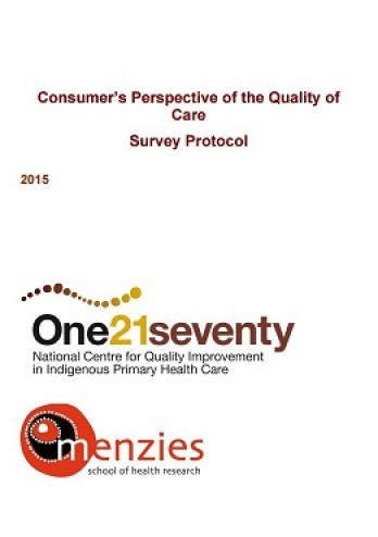 Consumer's Perspective of Quality of Care Tool