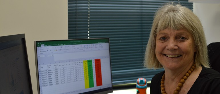 Epidemiologist Dr Karen Dempsey - part of the NT COVID-19 response