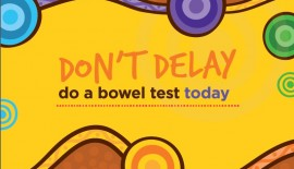 National Indigenous Bowel Screening test instruction brochure