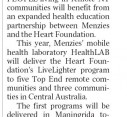 Heart Foundation partnership with HealthLAB - NT News