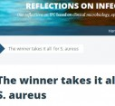 The winner takes it all  for S. aureus