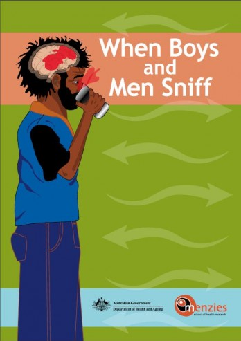 When boys and men sniff